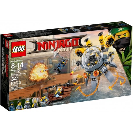 LEGO Ninjago Movie 70610 Flying Jelly Sub
