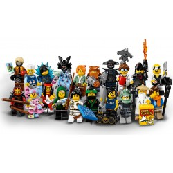 Lego Collectible Minifigures 71019 The Lego Ninjago Movie Series Complete Set of 20