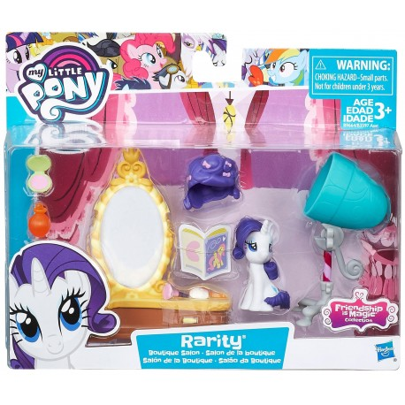 My Little Pony Friendship is Magic Rarity Boutique Salon
