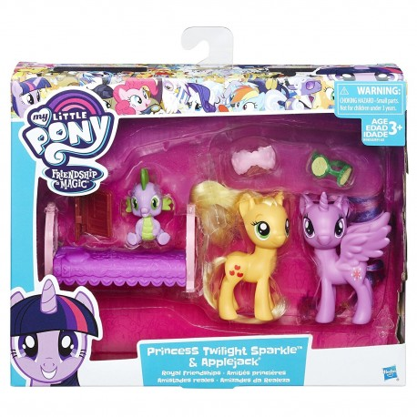 My Little Pony Friendship Pack Princess Twilight Sparkle and Applejack