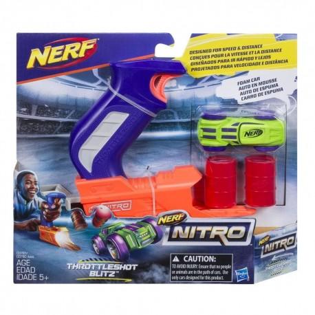Nerf Nitro Throttleshot Blitz (Blue Blaster)