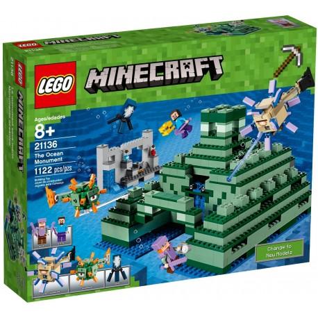 LEGO Minecraft 21136 The Ocean Monument