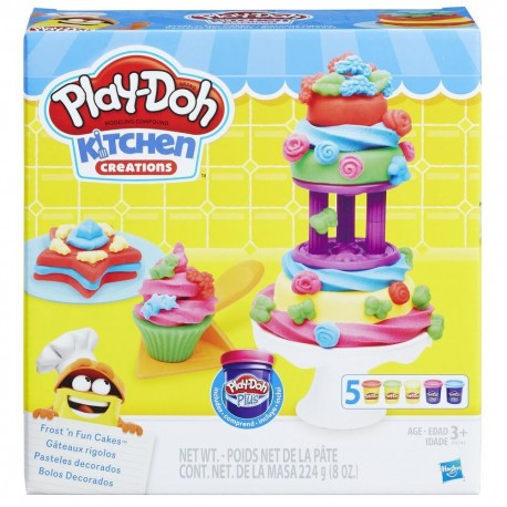 Play-Doh Kitchen Creations Frost and Fun Cakes