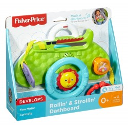 Fisher Price Rollin' and Strollin' Dashboard (Birth+)