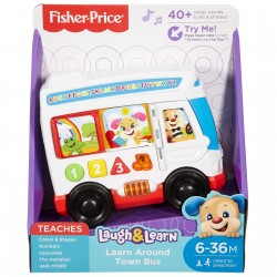 Fisher-Price Laugh & Learn Around Town Bus (6-36 Months)