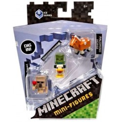 Minecraft Mini-Figure 3-Pack Series 5 Ice Series Num.4