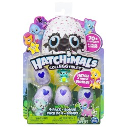 Hatchimals CollEGGtibles 4 Pack + Bonus Asst