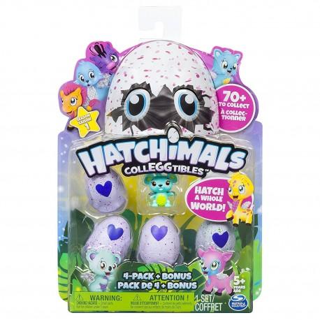 Hatchimals CollEGGtibles 4 Pack + Bonus Asst