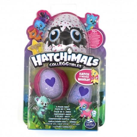 Hatchimals CollEGGtibles 2 Pack + Nest Asst