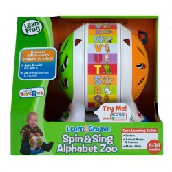 LeapFrog Spin & Sing Alphabet Zoo (6-36 months)