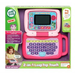 LeapFrog 2-in-1 LeapTop Touch (Pink) (2-5 yrs)