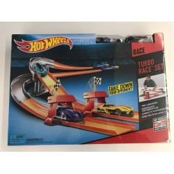 Hot Wheels 3-in-1 Turbo Race Trackset