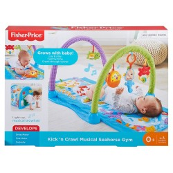 Fisher-Price Kick and Crawl Musical Seahorse Gym (0+ Months)