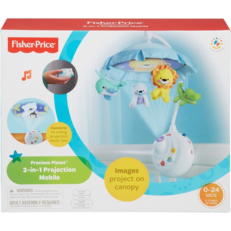 fisher price precious planet mobile instructions