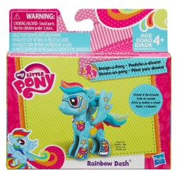 My Little Pony Pop Rainbow Dash Design-A-Pony Kit