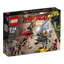 LEGO Ninjago Movie 70629 Piranha Chase