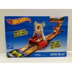 Hot Wheels Rapid Relay Race Track