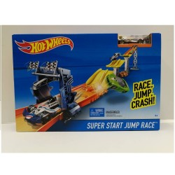 Hot Wheels Super Start Jump Race Track