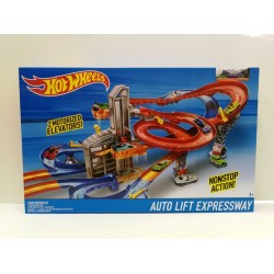 Hot Wheels Auto Lift Expressway Track Set