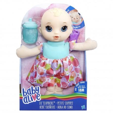 Baby Alive Lil' Slumbers - Blonde Hair