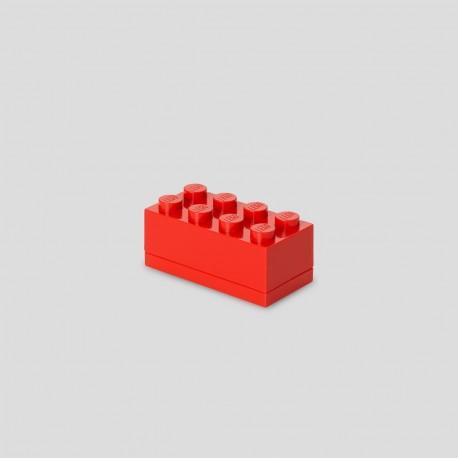 LEGO Storage Mini Box 8 Knobs - Red