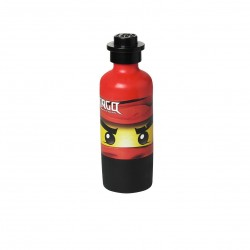 LEGO Ninjago Drinking Bottle- Bright Red (350ml)