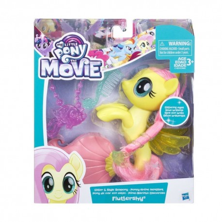 My Little Pony The Movie Glitter and Style Seapony Fluttershy