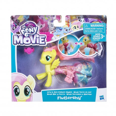 My Little Pony The Movie Fluttershy Land and Sea Fashion Styles