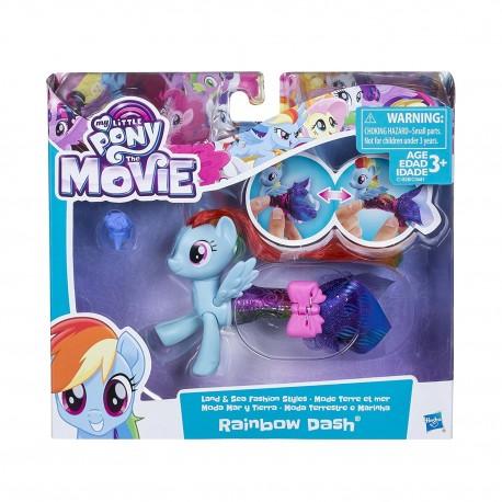 My Little Pony The Movie Rainbow Dash Land and Sea Fashion Styles