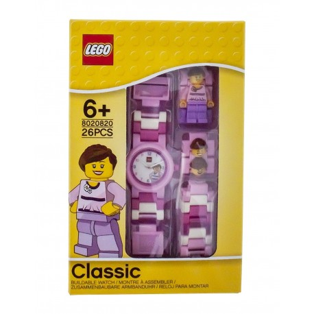 LEGO Classic 8020820 Pink Minifigure Link Kids Watch