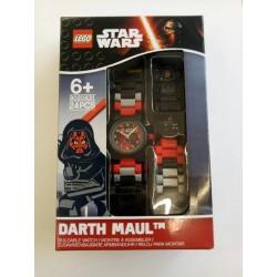LEGO Star Wars 8020431 Darth Maul Minifigure Link Kids Watch