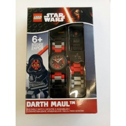 LEGO Star Wars 8020431 Darth Maul Minifigure Link Kids Watch