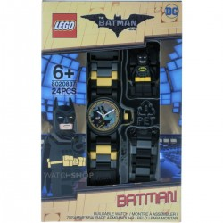 Lego Batman Movie 8020837 Batman Minifigure Link Kids Watch