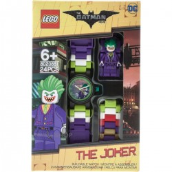 LEGO Batman Movie 8020851 The Joker Minifigure Link Kids Watch