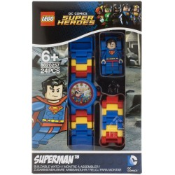 LEGO DC Super Heroes 8020257 Superman Minifigure Link Kids Watch