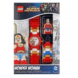 LEGO DC Super Heroes 8020271 Wonder Woman Minifigure Link Kids Watch