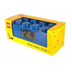 LEGO Brick 9002151 Alarm Clock Blue