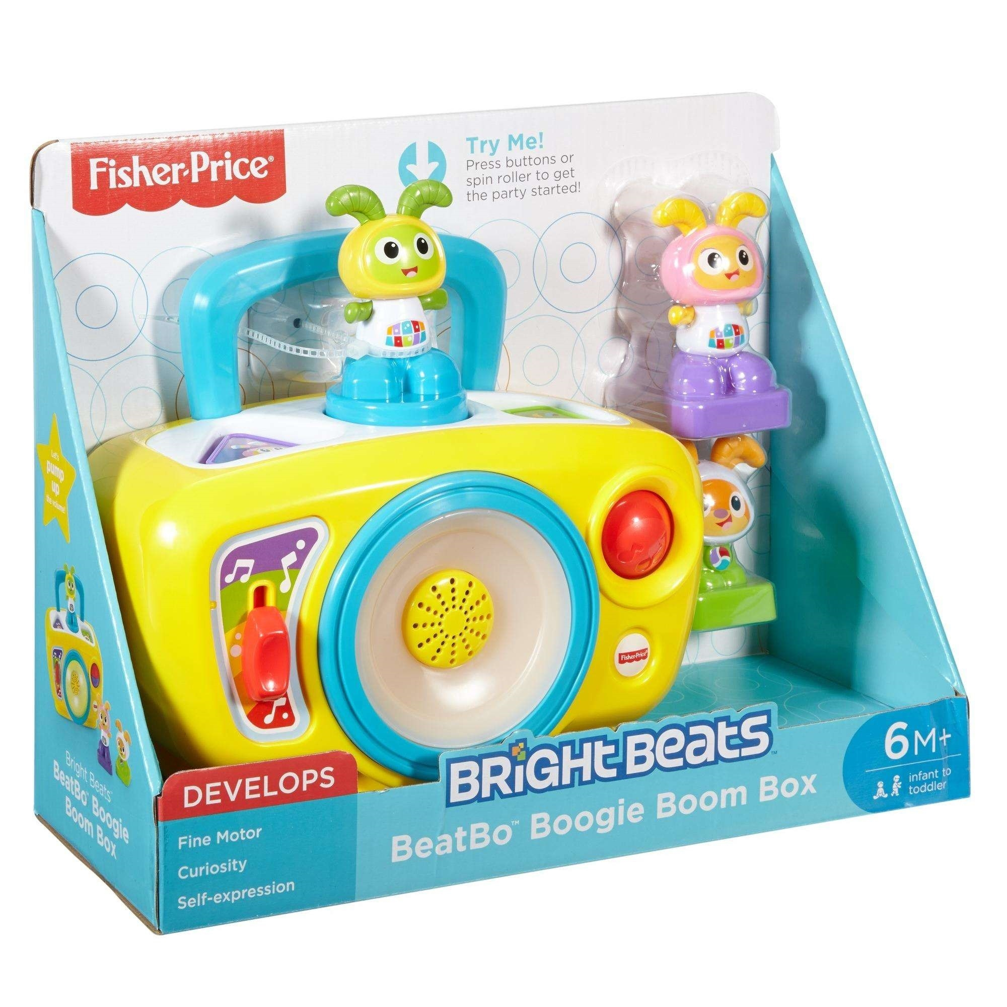 Fisher Price BeatBo Boogie Boom Box 6 Months