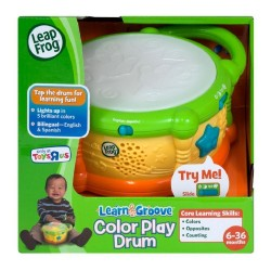 LeapFrog Learn and Groove Color Play Drum ( 6-36 months)
