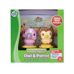 LeapFrog Learning Friends Owl & Parrot Figure Set With Board Book ( 2+ Years)