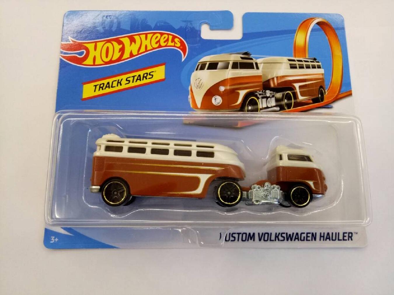 Custom Hot Volkswagen Track Hauler Stars Wheels Nmnwv08