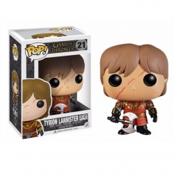 Funko Pop! TV 21: Game of Thrones - Tyrion Lannister w/Scar Battle Armour