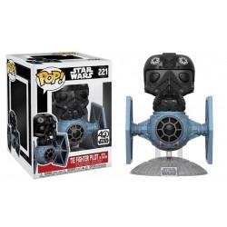 Funko Pop! Star Wars Deluxe 221: Tie Fighter with Tie Pilot