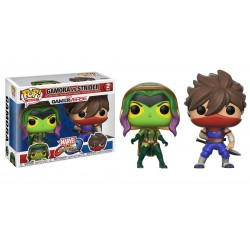 Funko Pop! Games: Marvel Vs. Capcom 2PK - Gamora Vs. Strider (2 Pack)