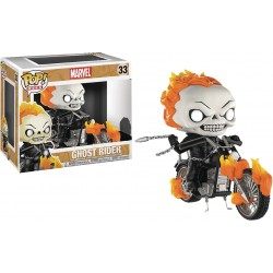 Funko Pop! Rides 33: Marvel - Ghost Rider (Glows in The Dark)