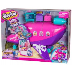 Shopkins Shoppies World Vacation Jet Playset