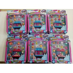 Shopkins World Vacation S8 America Theme 12 Pack Assorted