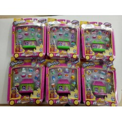 Shopkins World Vacation S8 Asia Theme 12 Pack Assorted