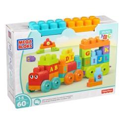 Mega Bloks ABC Learning Train Building Set (1-5 Years)