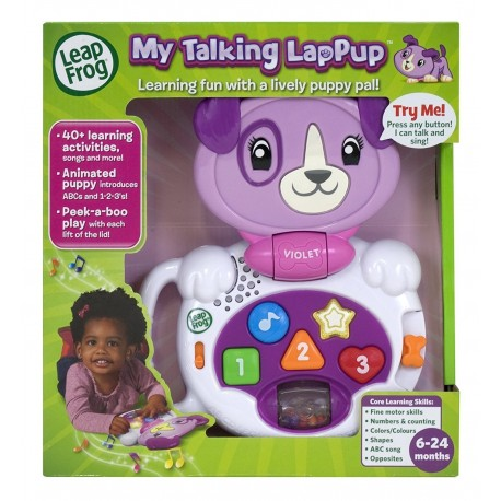 LeapFrog My Talking LapPup -Violet (6-24 Months)